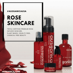 Rose Skincare from Ausganica 15% Off With My Code!