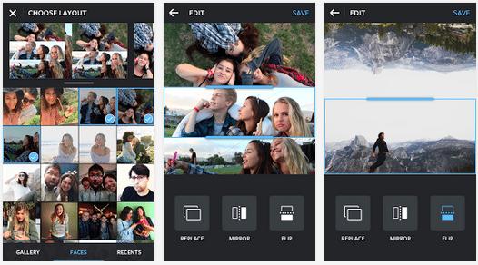 Apps para Instagram: Layout