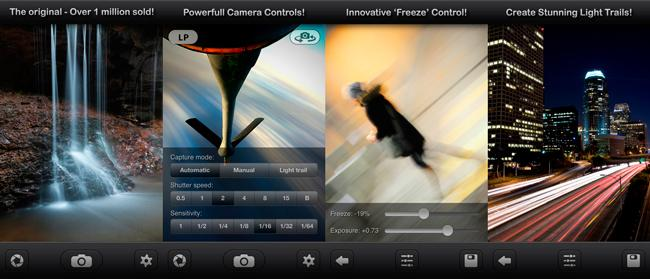 Apps para Instagram: Slow Shutter Cam