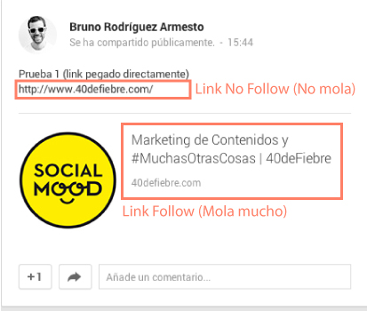 link follow Google+ y el SEO: La guía definitiva