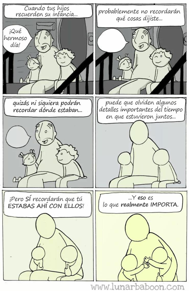Cuando tus hijos recuerden