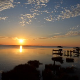 Sunset over the Currituck Sound, Duck, NC