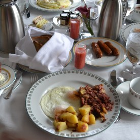 Breakfast at the Boston Harbor Hotel