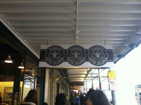 The First Starbucks store