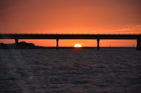 Sunset over the Oregon Inlet OBX, NC