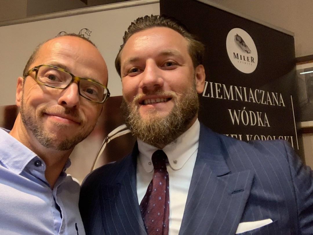 Tomasz Miler i ja - selfie