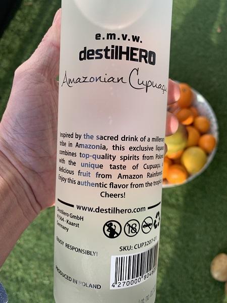 destilHERO tylna etykieta