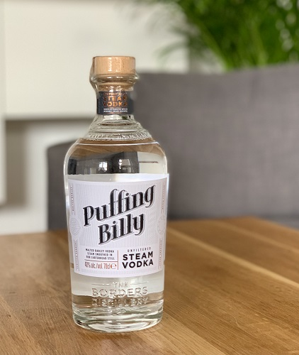 Puffing Billy, wódka ze Szkocji