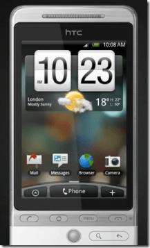 HTC Hero | SenseUI
