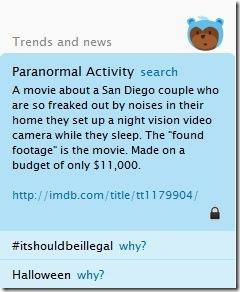 Brizzly trending topics