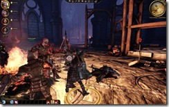 Dragon Age close up combat