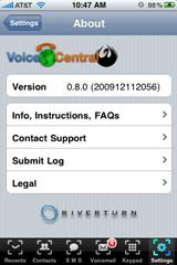Voice Central Google Voice app