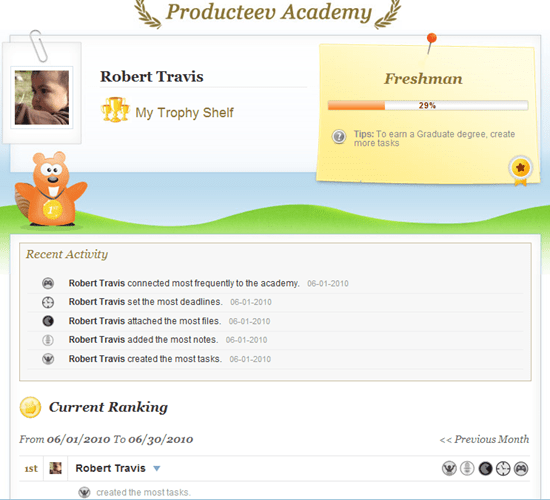Producteev Academy | Social Gaming in Task Management