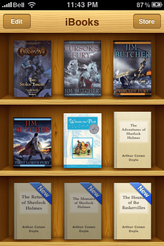 Get Your Current eBook Library On Your iBooks Bookshelf with