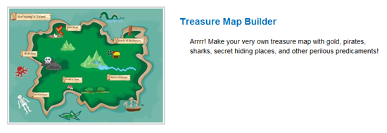 Treasure Map Editor | Storyjumper