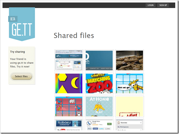 Easily download shared files with Ge.tt | 40Tech