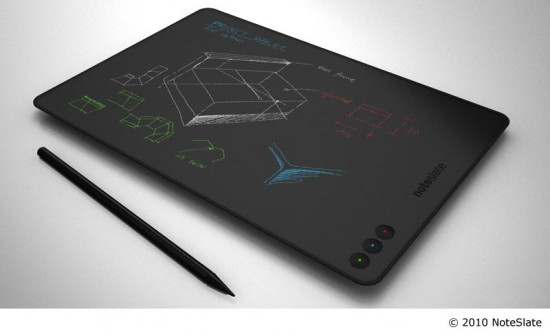 NoteSlate_color Digital Handwriting Tablet