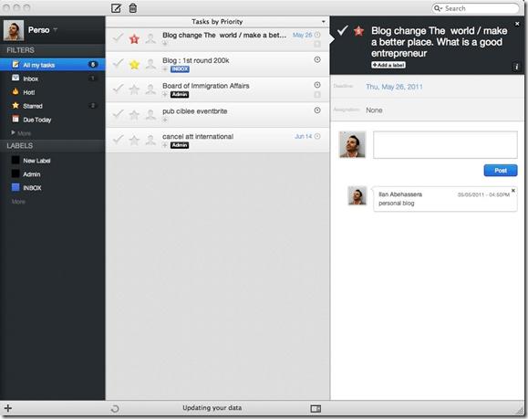Producteed Native App   Producteev Mac App