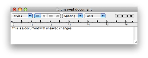 how to find an unsaved document on mac
