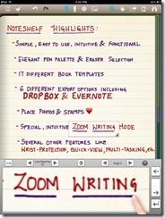 Noteshelf Natural Handwriting App for iPad