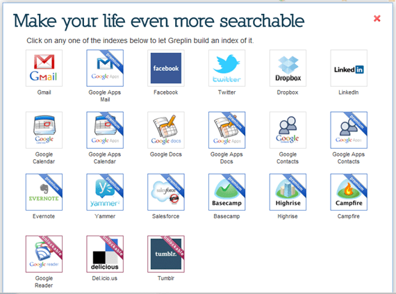 Greplin Indexes, Searches Gmail, Facebook, Twitter, Dropbox, and More | 40Tech