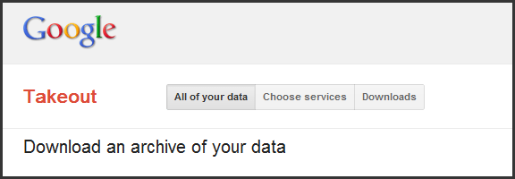 Easily Back Up Your Google+, Picasa Data With Takeout | 40Tech