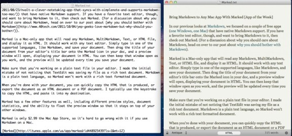 Bring Markdown to Any Mac Text Editor With Marked [App of