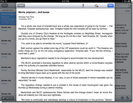 PressReader Article Copied to Evernote   40Tech