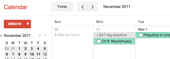 My conversion from iCal to Google Calendar | 40Tech