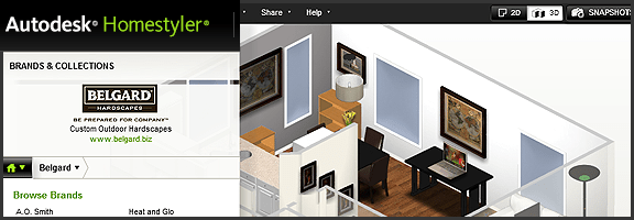 Redesign Your Living Space Online With Autodesk Homestyler | 40Tech