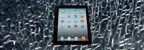 iPad broken screen