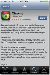 Google Chrome for iPhone | 40Tech