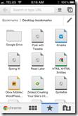 Chrome for iOS | Bookmark Sync | 40Tech