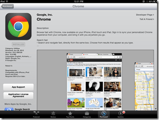 Google Chrome for iPad | 40Tech