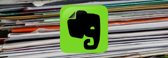 Evernote automated filing system