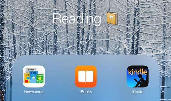 iOS folder icons