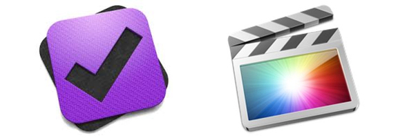 Omnifocus and final cut pro