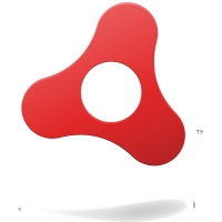 Adobe AIR logo | Lightweight, multi-OS platform for running web apps