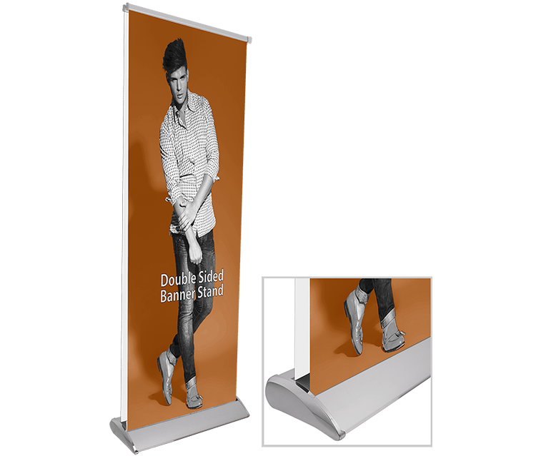 Elite Double Sided Banner Stand Base