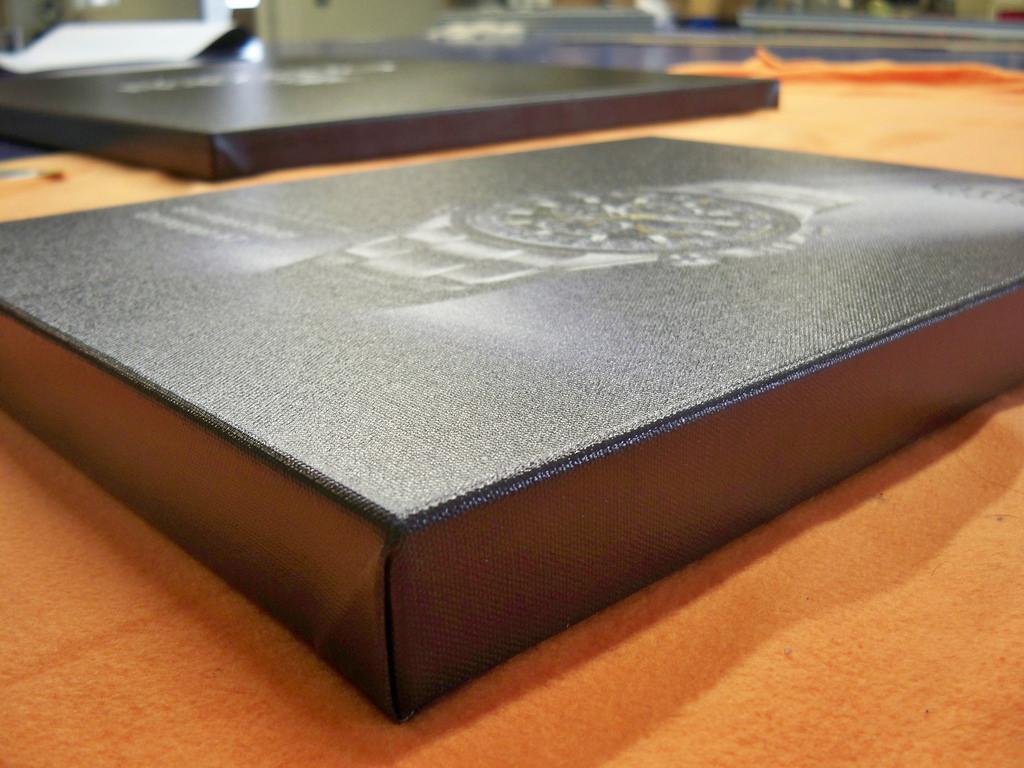 Premium Printed Canvas Wrap Retail Signage