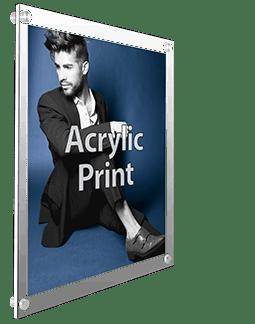 Clear Acrylic Print