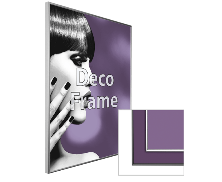 Deco Framed Substrate Print