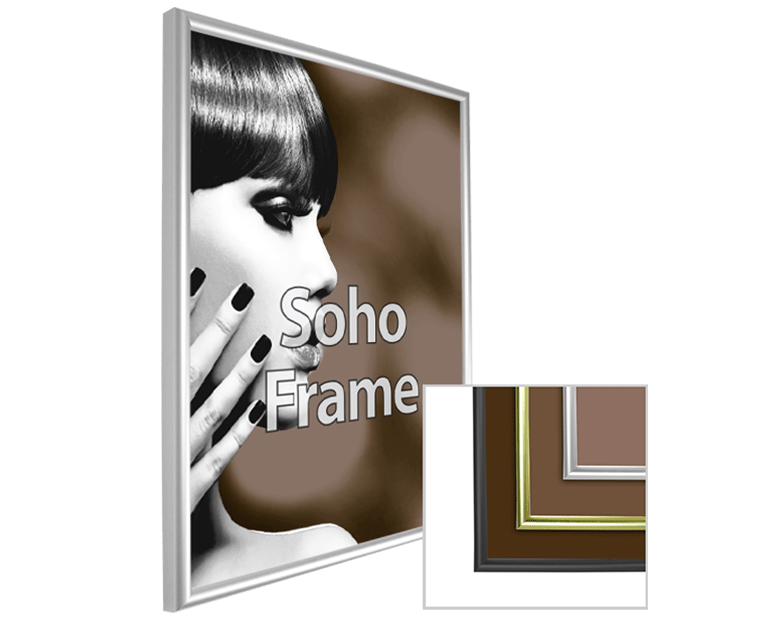 Soho Framed Substrate Print