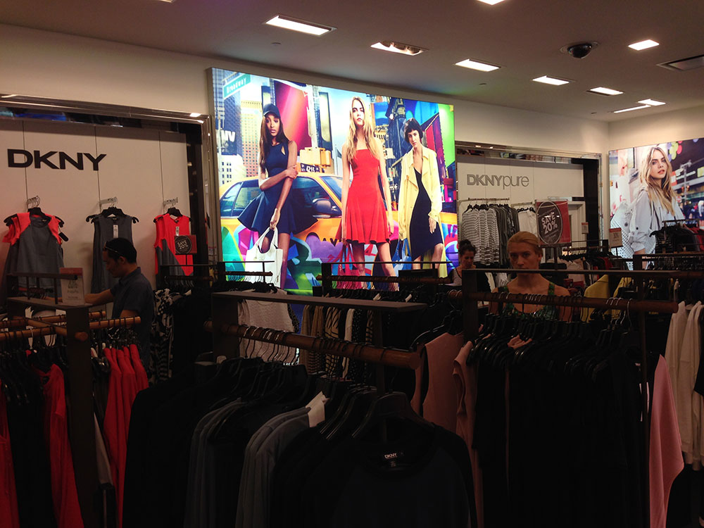 Fabric Framing Systems and Fabric Graphics are perfect for Retailers.