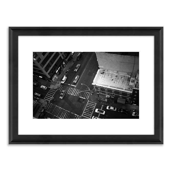 Framed Printed Photography for Interior Decor Black and White