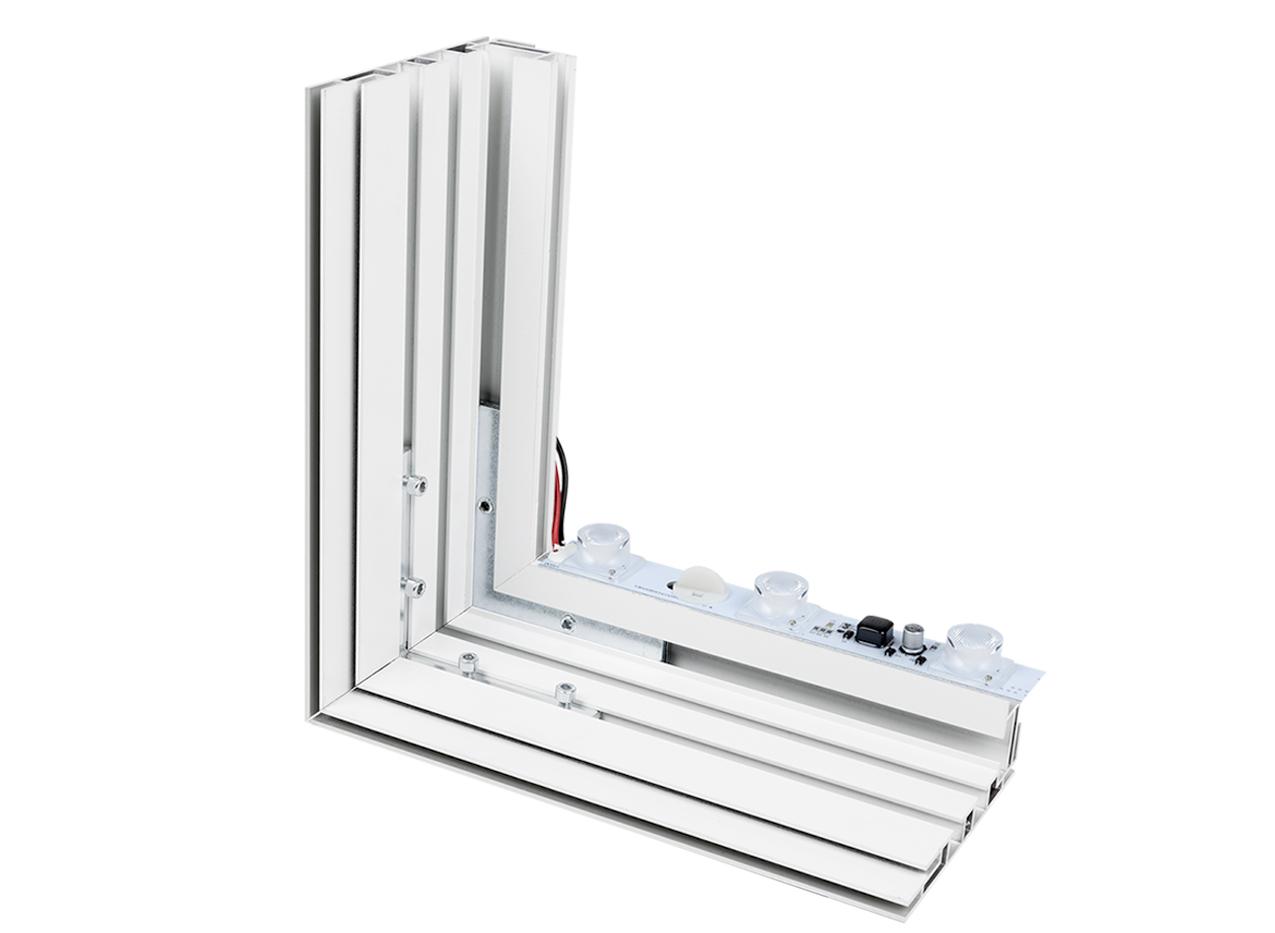 SEG Lightbox LED frameless double-sided aluminum LED lightbar aluminum manufacturing light Backlit Visuals Fabric Frame Silicone Graphics Merchandising Visual Design Marketing Advertising