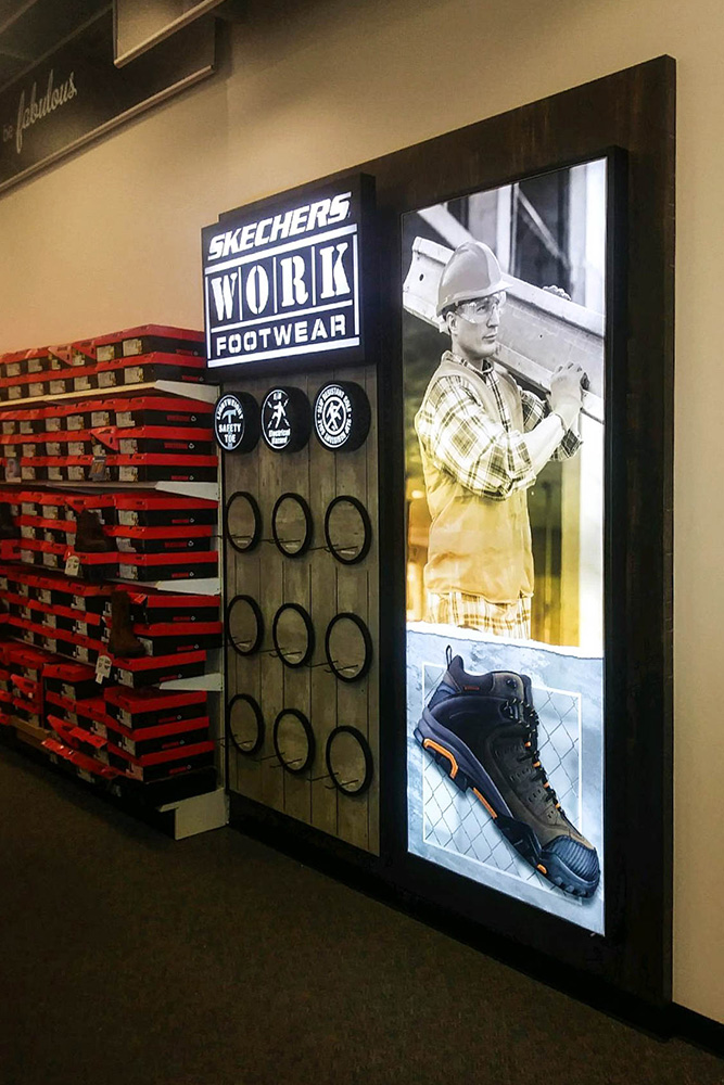 Frameless SEG Lightboxes Frameless SEG Lightboxes SEG Lightbox backlit retail display silicone edge graphic design single-sided manufacturing light Backlit lightbox lightbar aluminum Visuals Fabric tension Frame Silicone Graphics Merchandising Visual Design Marketing Advertising