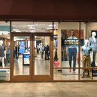 Free Standing Fabric frame window signage retail display sign print printing freestanding fabric tension fabric frameless visuals graphics visual merchandising design SEG Fabric tension Frame frames wall mounted accessories framing system profile Visuals office decor Silicone Graphics Merchandising Visual Design Marketing Advertising
