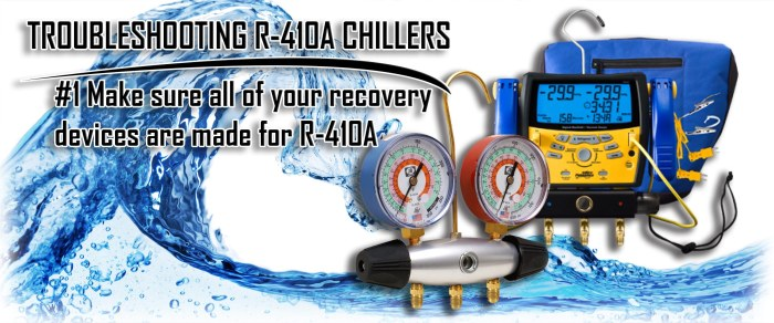 Troubleshooting of R-410A Chiller Equipment