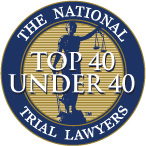 national trial lawyers 40 under 40 Logo